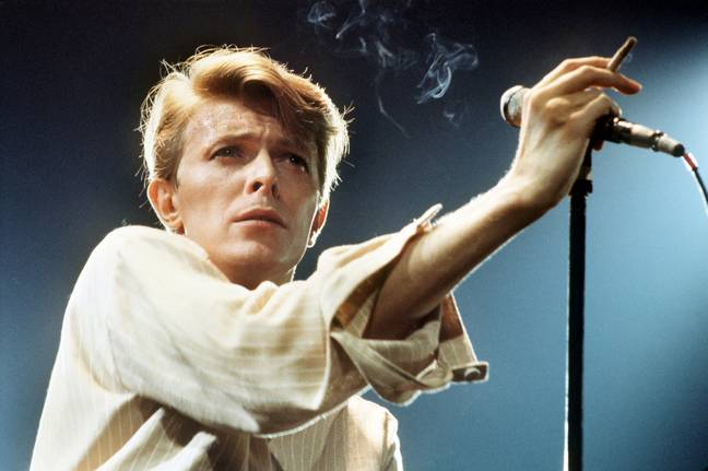 Bowie turned down the role, saying he didn't want to spend five months on a mountain. Credit: PA