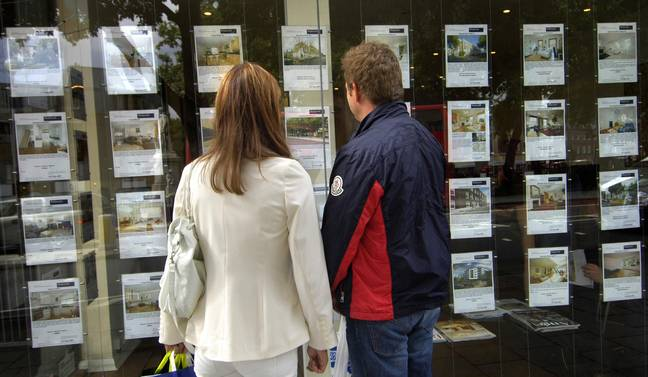 First-time buyers can get a foot on the property ladder with a deposit. Credit: PA