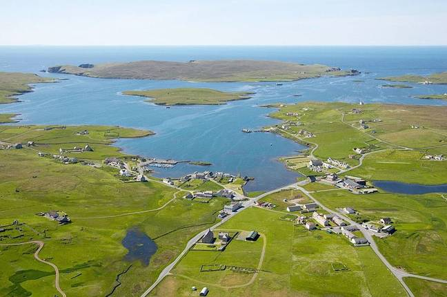 The island is up for sale for offers over £250,000. Credit: Vladi Private Islands