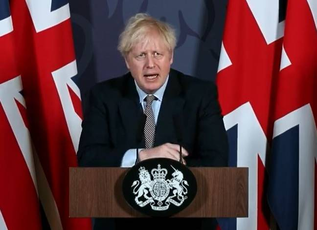 Boris Johnson welcomed the Brexit deal between the UK and EU. Credit: No.10