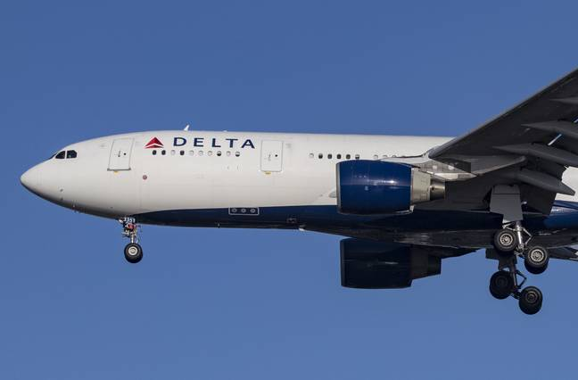 A Delta Airlines plane. Credit: PA