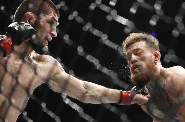 McGregor lost to lightweight champion Khabib Nurmagomedov last October. Credit: PA