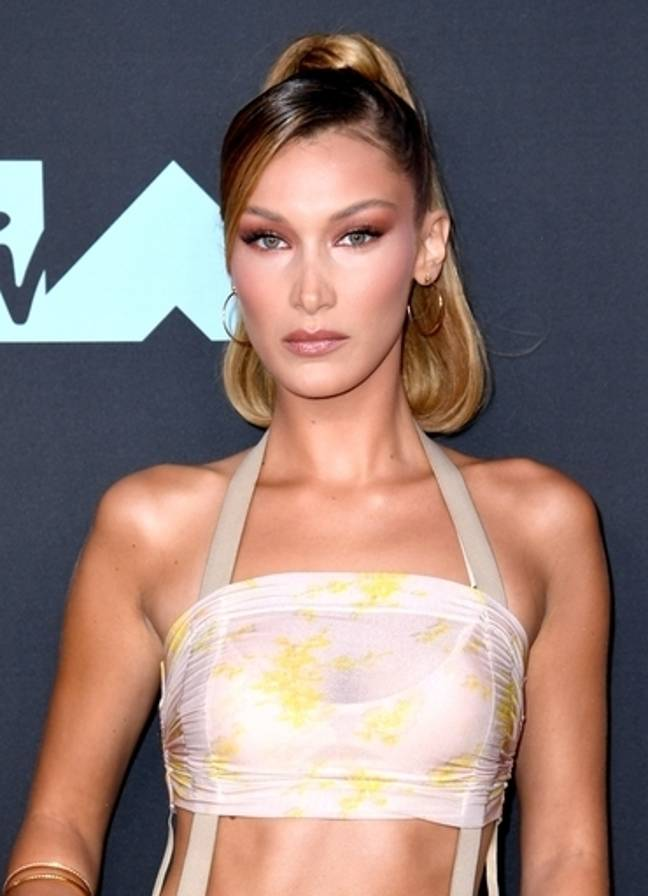 Bella Hadid is nearly 95 percent accurate when it comes to physical perfection. Credit: PA