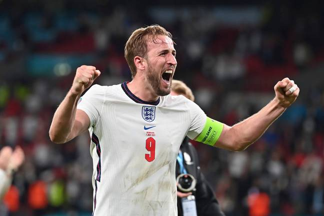 Harry Kane scored the winning goal in last night's semi-final. Credit: PA