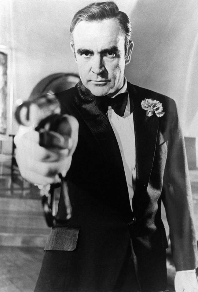 Sean Connery as Bond. Eon Productions