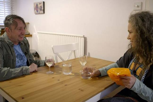 Richard discussed his problems with his ex-partner Angie. Credit: Channel 5/North One TV