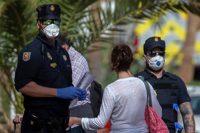 The H10 Costa Adeje Palace was quarantined last week. Credit: PA