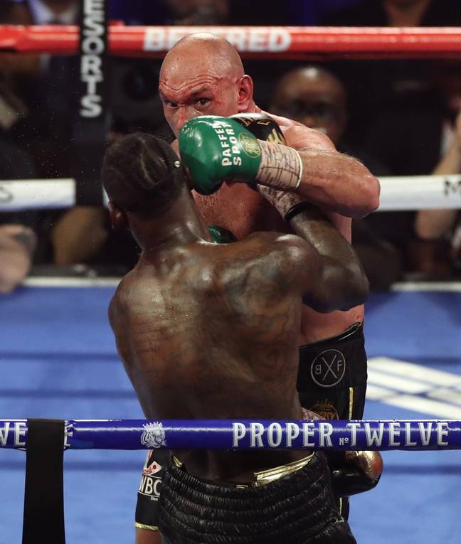 Fans have called for Tyson Fury to face Anthony Joshua ever since he defeated Deontay Wilder last year. Credit: PA