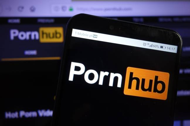 A lot of people sought solace on Pornhub. Credit: Alamy