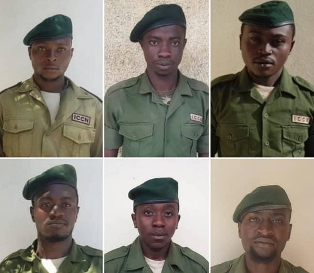 Six rangers were killed in the ambush. Credit: Virunga National Park