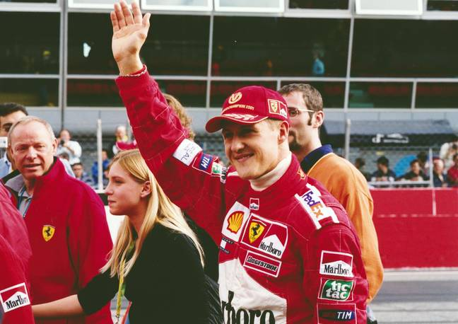 Schumacher sustained a severe brain injury while skiing in 2013. Credit: PA
