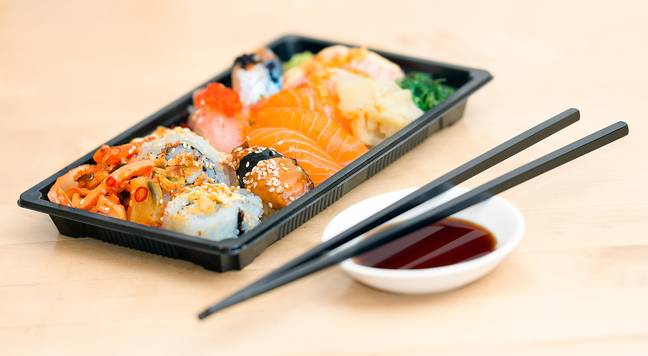 The sushi caused severe long-term symptoms. Credit: Pixabay