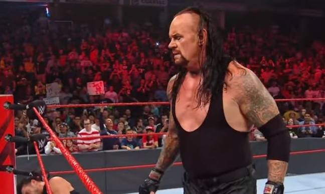 The Undertaker in action. Credit: YouTube/WWE