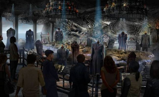 Credit: HBO Game of Thrones Studio Tour