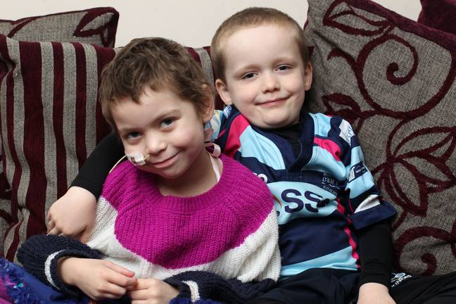 Oisin set a target of £100 but has already raised more than £2,000. Credit: SWNS