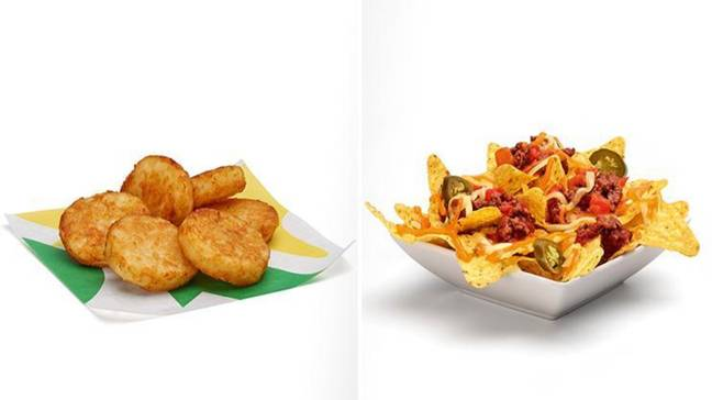 Yup, hash browns are now on the Subway menu. What a time to be alive. Credit: Subway