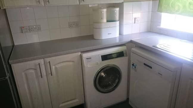 The offending washing machine. Credit: Champion News