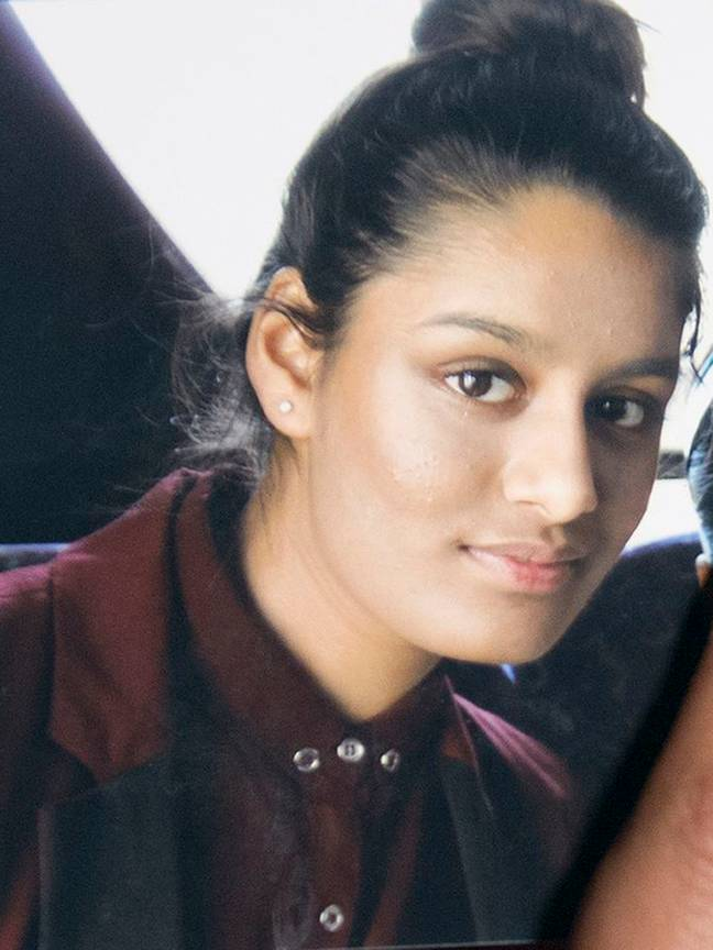 Shamima Begum recently had her UK citizenship revoked for leaving Britain to become a jihadi bride. Credit: PA