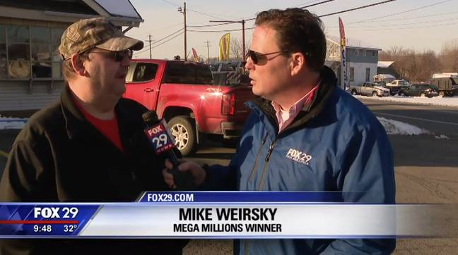 Mike Weirsky speaking to Fox. Credit: Fox
