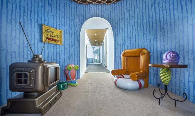 The Pineapple villa is all SpongeBob themed. Credit: nickresortpuntacana.com