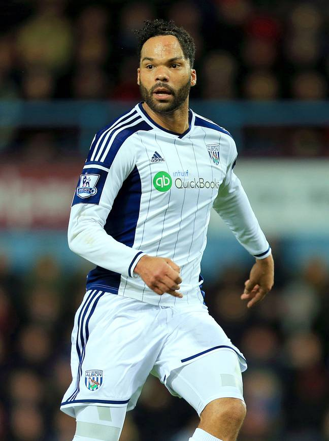 Joleon Lescott has a scar on his head from a car accident when he was a child. Credit: PA