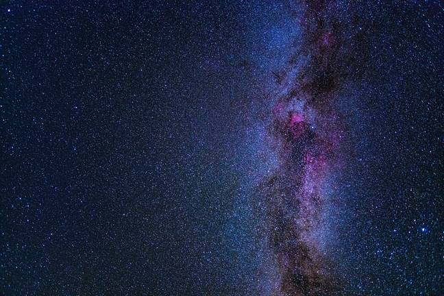 It's the first time oxygen has been found outside of the Milky Way. Credit: PA