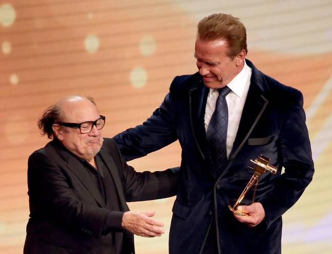 Danny DeVito and Arnold Schwarzenegger have been firm friends for years. Credit: PA