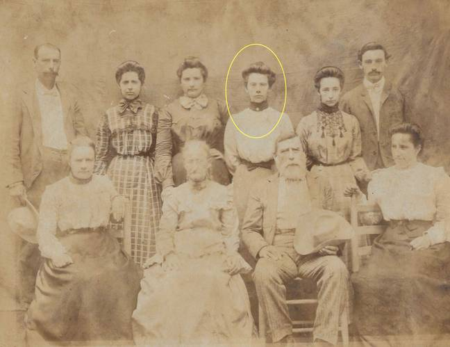 The previous owner thinks the ghost may be her great-grandmother Adele. Credit: Kennedy News and Media