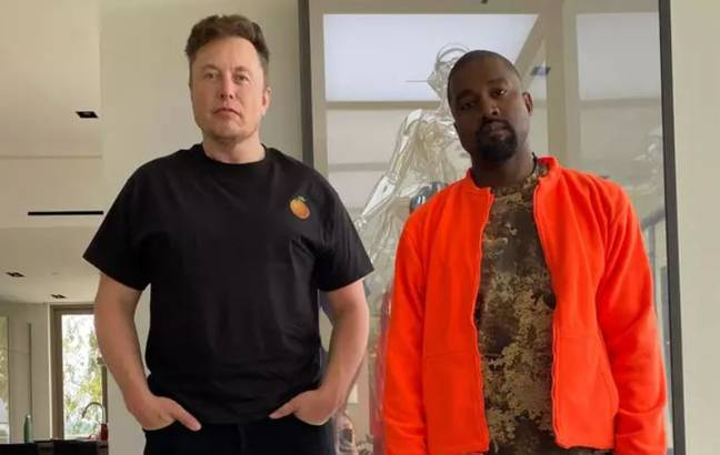 Credit: Twitter/Kanye West