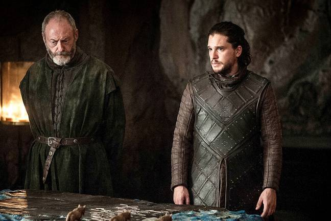 Is Jon about to bite the bullet? Credit: HBO