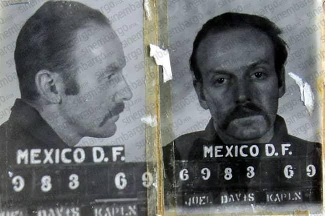 Kaplan had been convicted of murder. Credit: Sinembargo