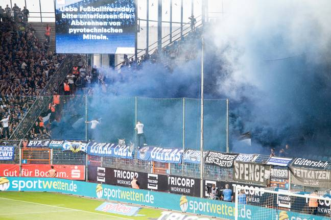 Bielefeld has it's own football team... or does it? Credit: PA
