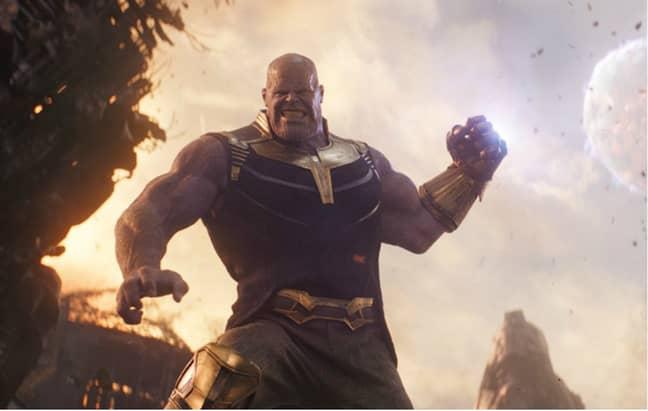 'Avengers: Infinity War' supervillain Thanos. Credit: Marvel