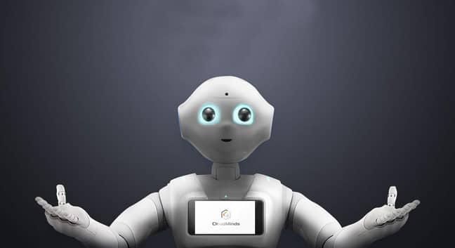 CloudMinds' Cloud Pepper robot. Credit: CloudMinds