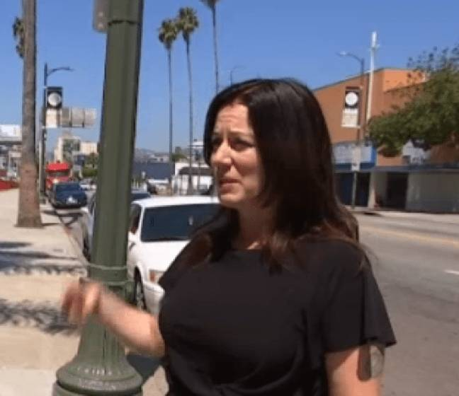 Heidi Van Tassel has been left traumatised by the incident. Credit: NBC 4