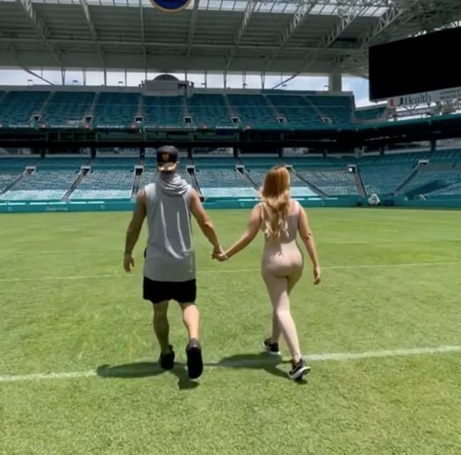 Austin and Catherine McBroom (Credit: Instagram/austinmcbroom)