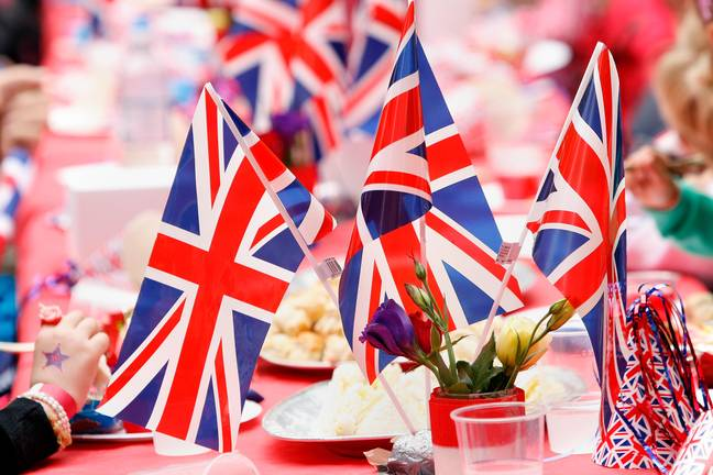 People celebrated on the streets for the Diamond Jubilee. Credit: theodore liasi/Alamy Stock Photo