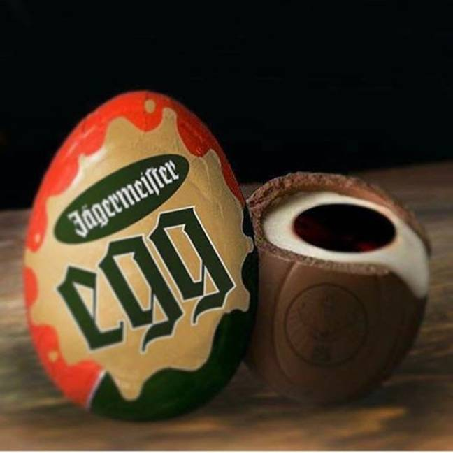 This is what last year's phoney egg looked like. Credit: Jägermeister