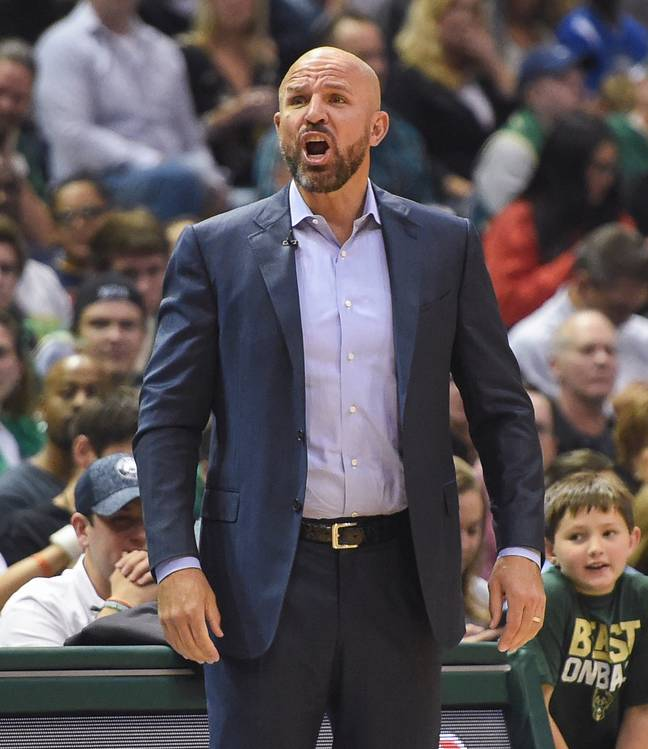 Kidd made his team do sprints because of Maker. Credit: PA