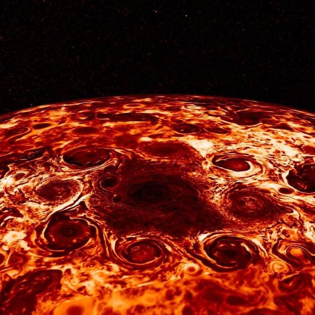 Credit: NASA/JPL-Caltech/SwRI/ASI/INAF/JIRAM