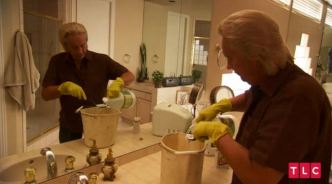 Ex-husband Michael cleans her home for free to save on cleaning bills. Credit: TLC