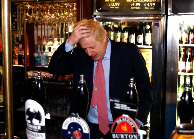 Boris Johnson has closed all the pubs, bars, cafes and restaurants in the UK. Credit: PA