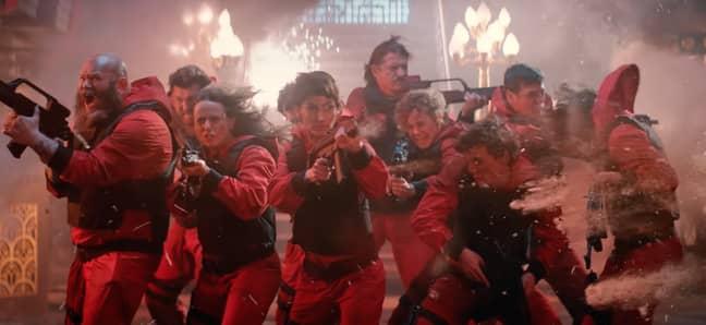 La temporada 5 de Money Heist llega a Netflix en septiembre de 2021 (Crédito: Netflix)