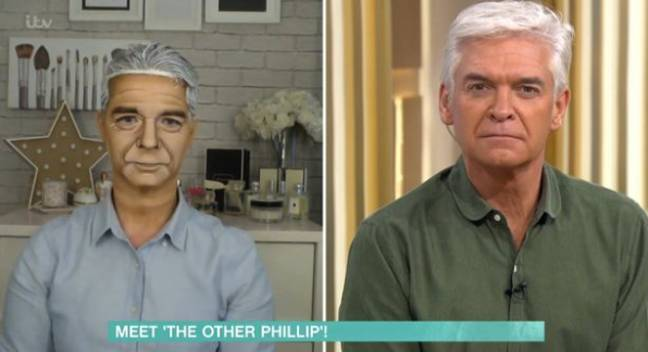 Holly and Phil were amazed at Alana's transformation. Credit: ITV