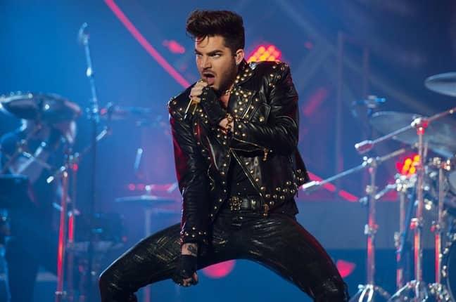 Adam Lambert. Credit: PA