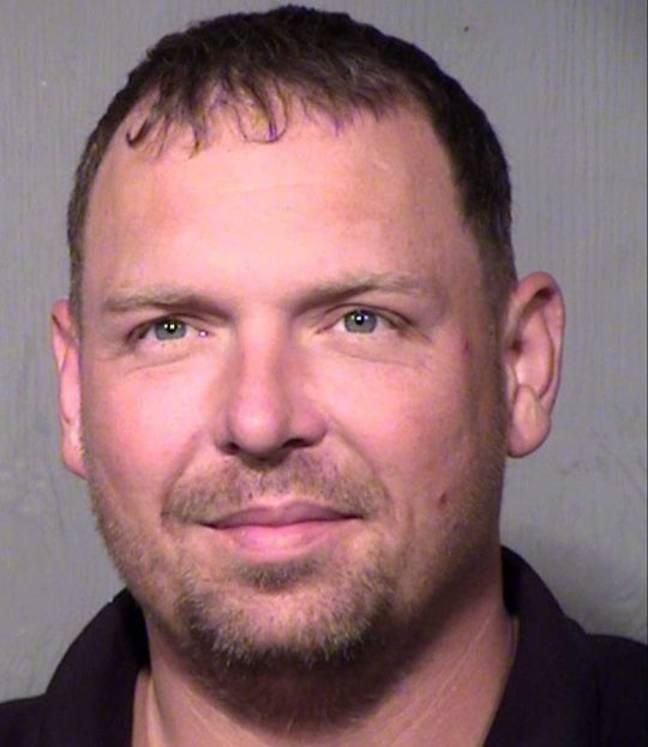 Michael Navage has been charged with bestiality and animal cruelty. Credit: Maricopa County Sheriff's Office