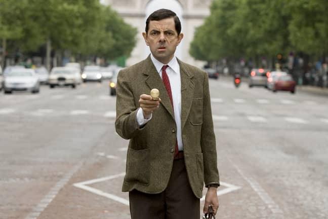 Rowan Atkinson as Mr Bean. Credit: ITV