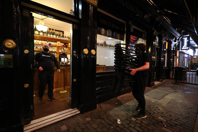 Pubs in Liverpool must now close. Credit: PA