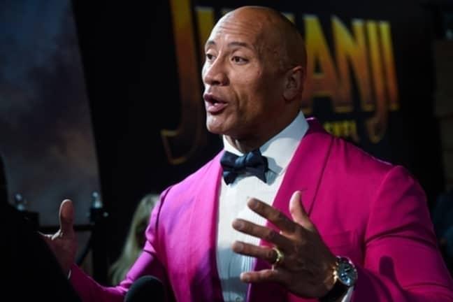Wrestler, turned actor... turned President? Credit: PA