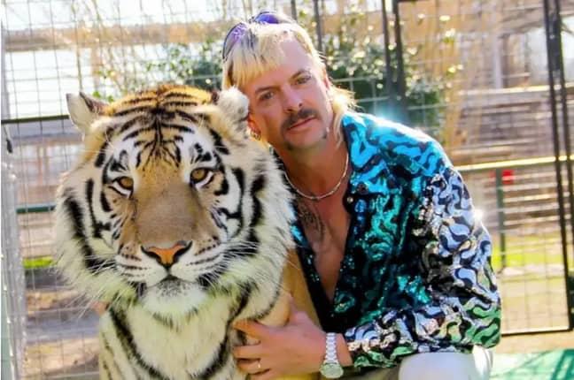 Joe Exotic was featured in the infamous Netflix docu-series Tiger King (Credit: Netflix)